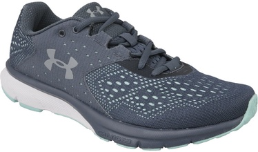 Under Armour Womens Charged Rebel 1298670-100 Grey/Blue 36.5