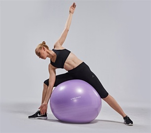 Head Exercise Ball 75cm Purple