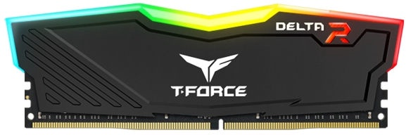 Team Group Delta RGB 8GB 3000MHz CL16 DDR4 KIT OF 2 TF3D48G3000HC16CDC01