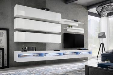 ASM Fly U4 Living Room Wall Unit Set White