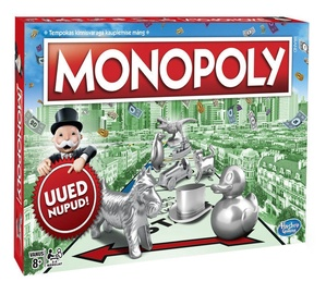 Lauamäng Hasbro Monopoly Classic, EE