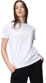 Audimas Womens Short Sleeve Tee White Printed M
