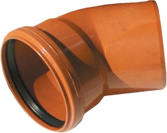 Magnaplast Sewage Elbow Pipe Brown 67° 160mm