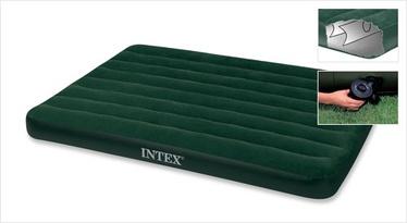 Täispuhutav madrats Intex velvet 191x137x22cm