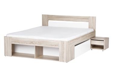 Кровать Szynaka Meble Milo 08, 140 x 200 cm
