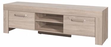 ТВ стол Jurek Meble Cezar Reg14 Sonoma Oak, 1700x520x510 мм