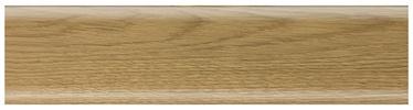Põrandaliist SG50C8 2.5m, tamm PVC