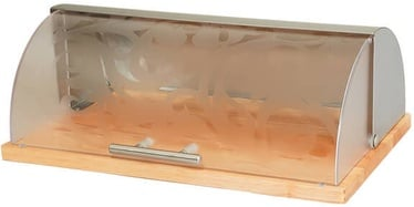 Maestro Bread Box 38x14x23cm Brown/Transparent