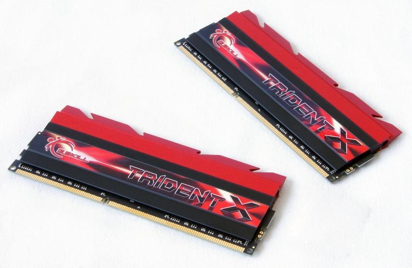 G.SKILL TridentX 16GB 2400MHz DDR3 CL10 DIMM KIT OF 2 F3-2400C10D-16GTX