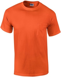 Gildan Cotton T-Shirt Orange XXL