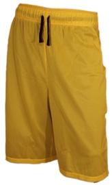 Bars Mens Basketball Shorts Yellow/Black 174 L