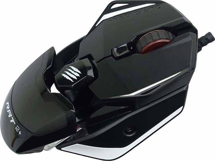 Игровая мышь Mad Catz R.A.T. 2+ Black, проводная, оптическая