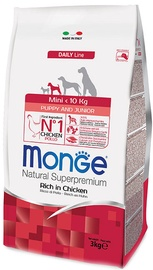 Monge Daily Line Mini Puppy and Junior Rich in Chicken 3kg