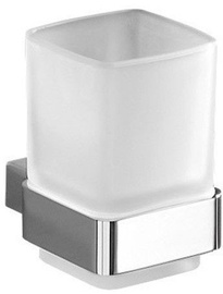 Gedy Lounge Toothbrush Holder Chrome/White 5410-13