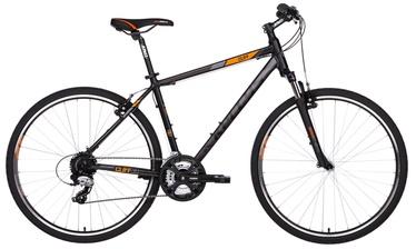 """Jalgratas Kellys Cliff 30 21"""" 28"""" Black Orange 18"""
