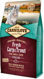 Carnilove Sterilised Cat Fresh Carp & Trout 2kg