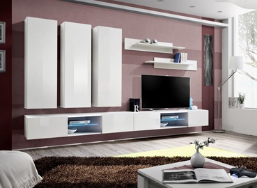 ASM Fly Q Living Room Wall Unit Set White