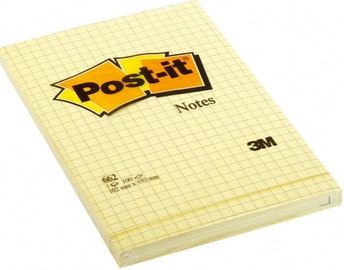 3M Post It 662 Yellow Notes 100pcs