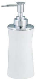 Spirella Soap Dispenser Malibu White Porcelain