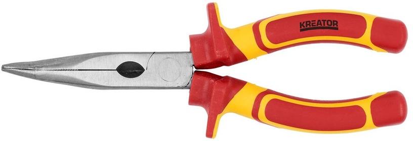 "Kreator KRT620002 VDE Bent Nose Plier 8"""