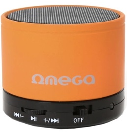 Беспроводной динамик Omega OG47B Metal Body Orange, 3 Вт