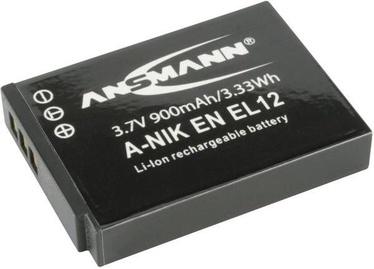 Ansmann A-Nik EN EL Camera battery 12 LI 3.7V/ 1050mAh