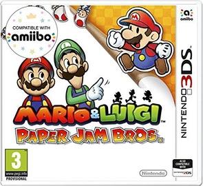 Mario And Luigi: Paper Jam Bros. 3DS