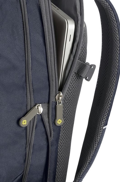 "Samsonite Notebook Backpack 4Mation For 16"" Blue/Yellow"