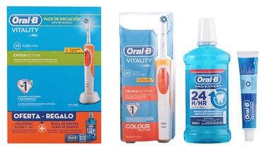 Braun Oral-B Vitality Cross Action 3pcs Set Orange