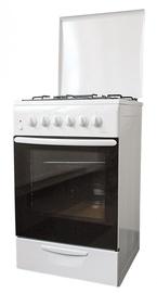 Газовая плита с электрической духовкой MPM 51-KGE-11 White