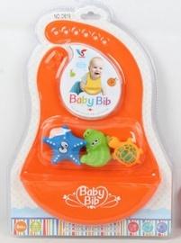 Baby Bib Silicone Bib Orange