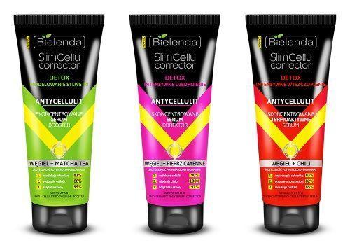 Bielenda Slim Cellu Corrector Thermo Active Serum Intense Slimming Carbon + Chilli Anti Cellulite 250ml
