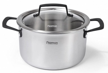 Fissman Loren Casserole With Glass Lid 20cm 3.7l