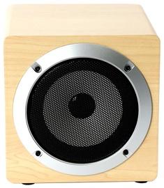 Omega OG62W 8W Wooden Body Bluetooth Speaker Beige