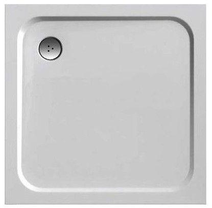 Ravak Perseus Pro Chrome Shower Tray White