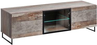 ТВ стол ASM RTV Plank Wood/Black, 1500x450x440 мм