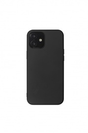 Just Must iPhone 12 Mini Back Cover Black