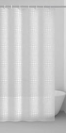 Gedy Lens Shower Curtains 180x200cm White Grey