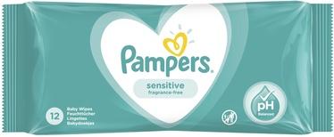 Niisked salvrätikud Pampers Baby Sensitive, 12 tk