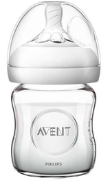 Philips Avent Natural Glass Bottle 125ml SCF 051/17