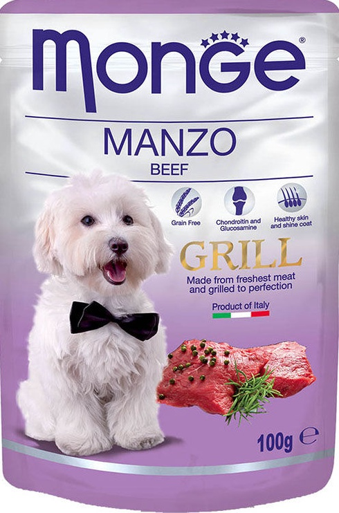 Monge Grill Pouch Beef 100g