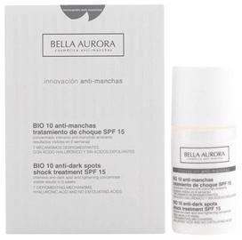 Näoseerum Bella Aurora Bio10 Anti Dark Spots Shock Treatment SPF15, 30 ml
