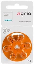 Siemens Signia A13 Hearing Aid Batteries 6x