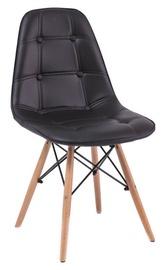 Söögitoa tool Signal Meble Axel Buk Black, 1 tk