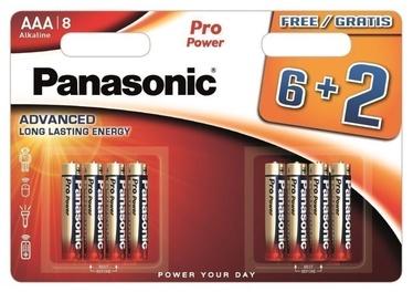 Panasonic Pro Power 6+2 x AAA