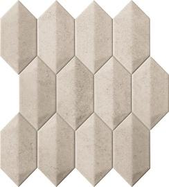 Tubadzin Dover Mosaic Tiles 29.1x26.5cm Graphite