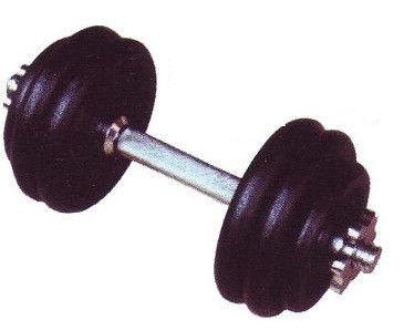 Sport Systems Metal Dumbbells, 2 x 15 kg