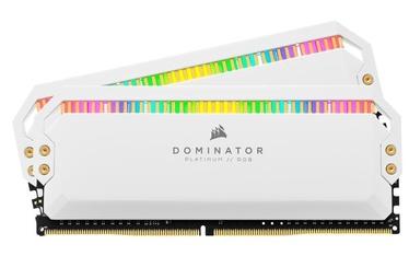 Corsair Dominator Platinum White RGB 16GB 3600MHz CL18 DDR4 KIT OF 2 CMT16GX4M2C3600C18W
