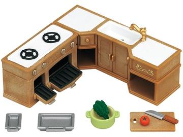 Epoch Sylvanian Families Kitchen Stove Sink & Counter Set 5222