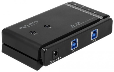 Delock 87736 USB 3.0 Matrix Switch 2 x 2